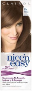 Clairol Nice n Easy Non Permanent 8 Wash Light Golden Brown 76