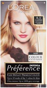 L'Oreal Preference Cannes Soft Golden Blonde 8.3