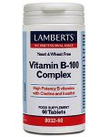 Lamberts Vitamin B-100 Complex Tablets Pack of 60