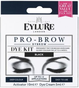 Eylure Pro-Brow Dye Kit Black