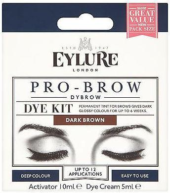 Eylure Pro Brow Dybrow Dye Kit Dark Brown