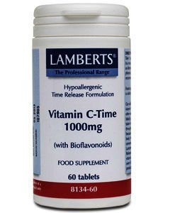 Lamberts Vitamin C & Bioflavonoids Tablets 1000mg Pack of 60
