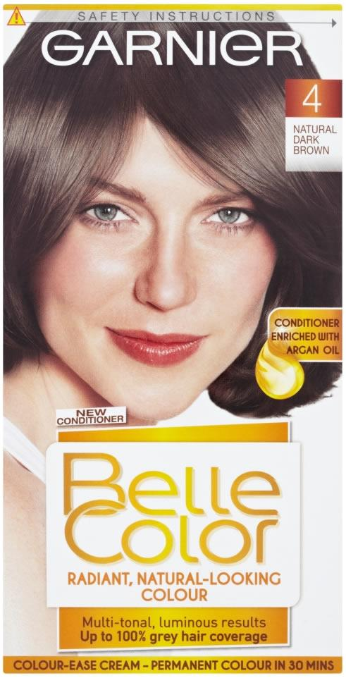 Garnier Belle Colour Ease Cream Natural Dark Brown 4