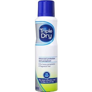 Triple Dry Anti-Perspirant Spray 150ml