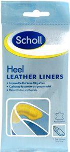 Scholl Hidden Comfort Heel Leather Liners