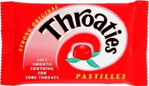 Throaties With Honey & Menthol Original Pack of 10