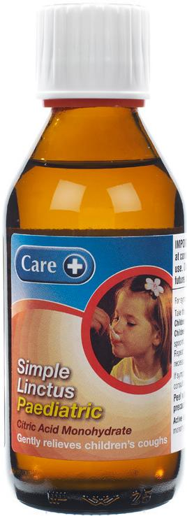 Care Simple Paediatric Linctus 200ml