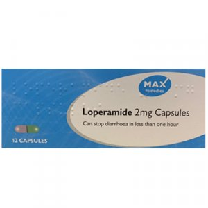 Loperamide Capsules 2mg Pack of 12
