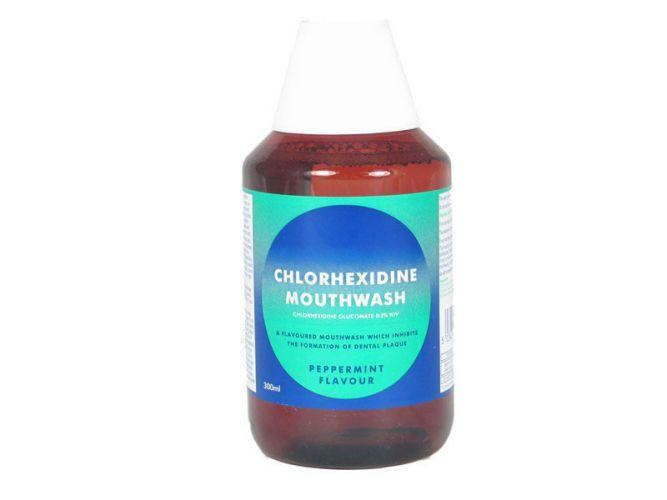Chlorhexidine Gluconate Mouthwash (peppermint) 300ml
