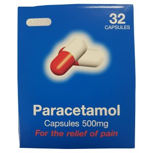 Paracetamol Capsules Pack of 32