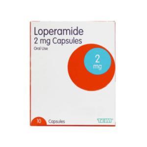 Loperamide 2mg Capsules Pack of 10