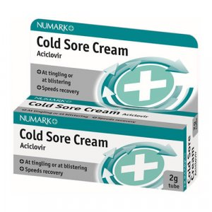 Numark Aciclovir Cream 2g