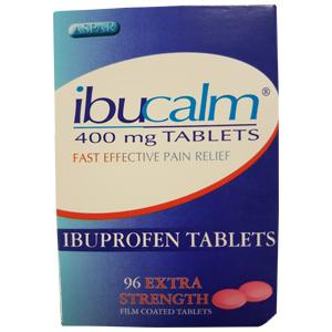 Ibuprofen 400mg Tablets Pack of 96