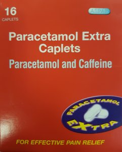Paracetamol Extra Caplets Pack of 16