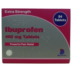 Ibuprofen Extra Strength 400mg Tablets Pack of 84