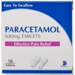 Paracetamol 500mg Tablets Pack of 16