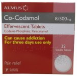 Co-codamol Effervescent Tablets Pack of 32