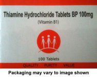 Thiamine 100mg Tablets Pack of 100