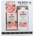 Morny Nature's English Rose Talc & Soap Set