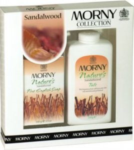 Morny Nature's Sandalwood Talc & Soap Set