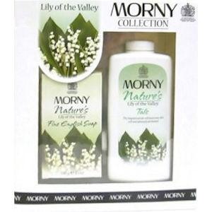 Morny Nature's Lily of the Valley Talc & Soap Set