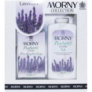 Morny Nature's Lavender Talc & Soap Set
