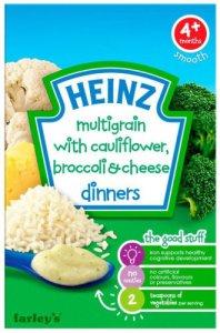 Heinz Dinners Multigrain with Cauliflower, Broccoli & Cheese 125g