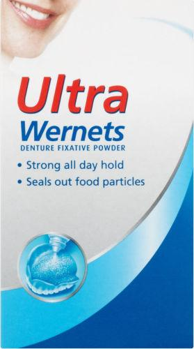 Wernets Ultra Denture Fixative Powder 40g