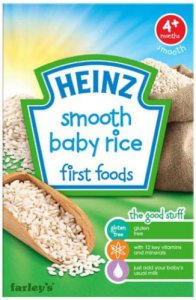 Heinz Smooth Baby Rice 100g
