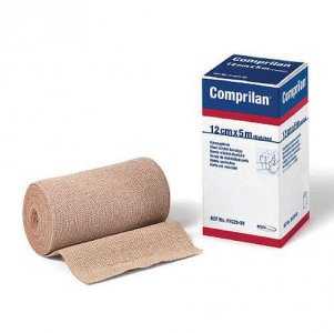 Comprilan Short Stretch Compression Bandage 12cm x 5m