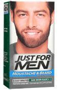 Just For Men Mustache & Beard Dark Brown-Black M-45
