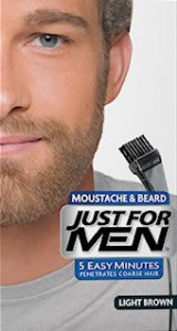 Just For Men Moustache & Beard Light Brown