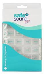Safe & Sound Weekly Pill Organiser
