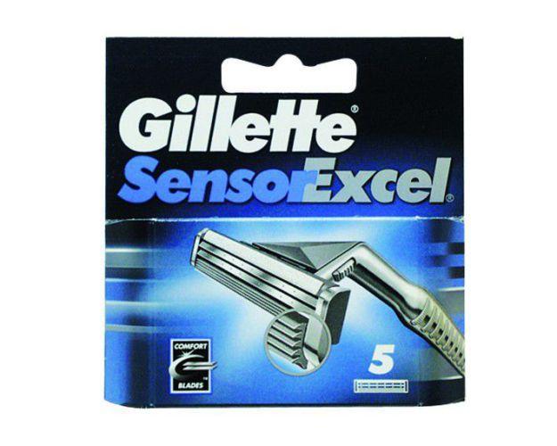 Gillette Sensor Excel Razor Blades Pack of 5