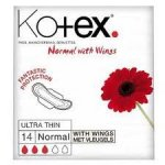 Kotex Ultra Thin Normal Towels with Wings Pack of 14