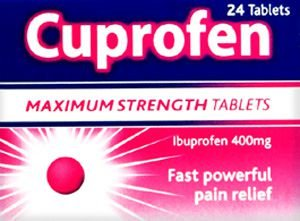 Cuprofen 400mg Tablets Pack of 24