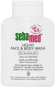 Seba Med Liquid Face & Body Wash 200ml
