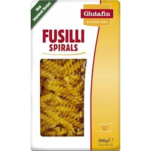 Glutafin Gluten Free Fusilli Spirals 500g