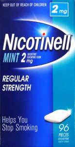Nicotinell 2mg Chewing Gum Mint Pack of 96