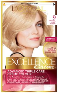 L'Oreal Excellence Creme Natural Light Blonde 9