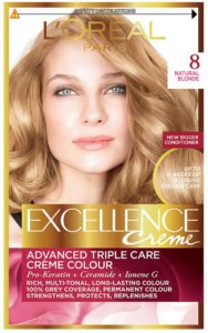 L'Oreal Excellence Creme Natural Blonde 8