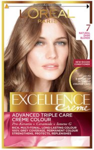 L'Oreal Excellence Creme Natural Dark Blonde 7