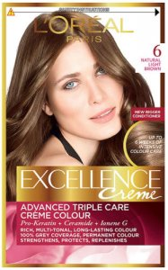 L'Oreal Excellence Creme Natural Light Brown 6