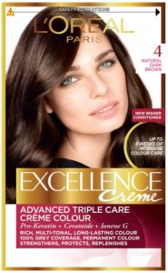 L'Oreal Excellence Creme Natural Dark Brown 4