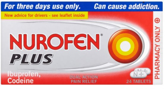 Nurofen Plus Tablets Pack of 24