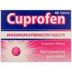 Cuprofen 400mg Tablets Pack of 48