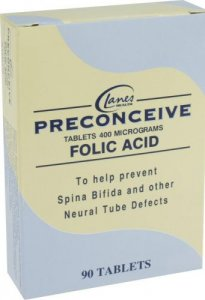 Preconceive Tablets Folic Acid Pack of 90