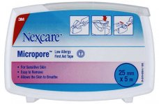 Nexcare Micropore Dispenser Pack  2.5cm x 5m