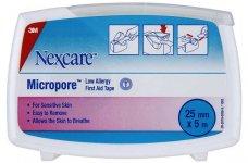 Nexcare Micropore Dispenser Pack  2.5cm x 5m