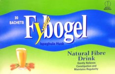 Fybogel Natural Flavoured Laxative Sachets Pack of 30